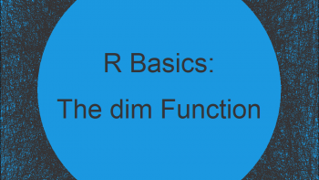 The dim Function in R (4 Examples)