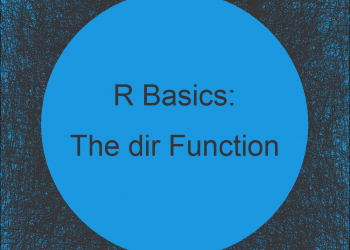 dir R Function | 3 Example Codes