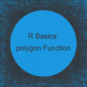 R polygon Function | 6 Example Codes (Frequency & Density Plot)