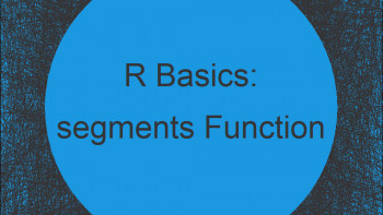 The segments R Function   3 Example Codes