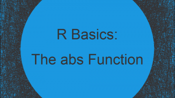 R abs Function (6 Example Codes) | How to Calculate an Absolute Value