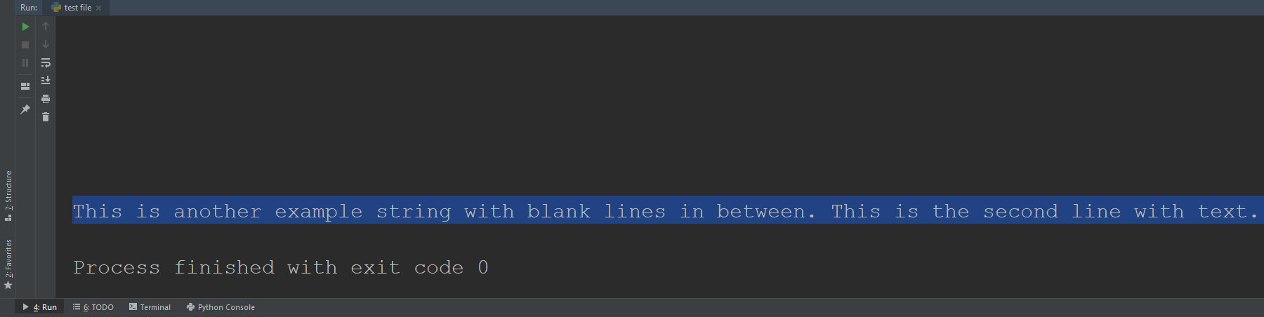 Removing Blank Lines Between Python Text With Replace Function