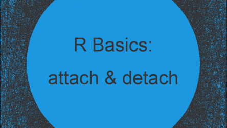 attach & detach Functions in R | 2 Examples: Data Frame & Package