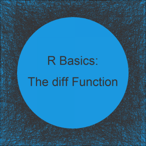 diff Function in R (2 Examples) | How to Calculate the Difference in R