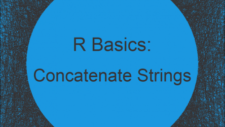 Concatenate Vector of Character Strings in R (2 Examples) | How to Combine Text Cases