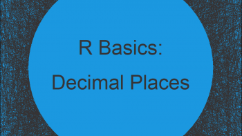 Format Number of Decimal Places in R (2 Example Codes)
