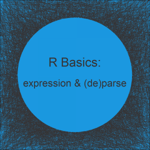 parse, deparse & expression Functions in R | Handle Character String & Expression