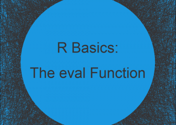 R eval Function (3 Examples) | Evaluate Expressions & Character Strings