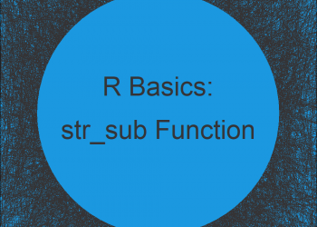 str_sub R Function of stringr Package (2 Examples)