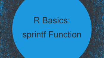 sprintf R Function (6 Example Codes)