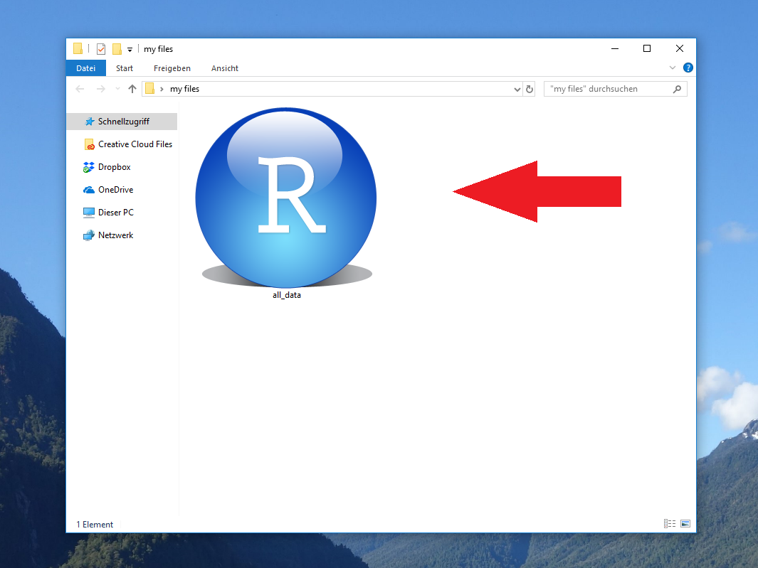 Working Directory with Saved RData File