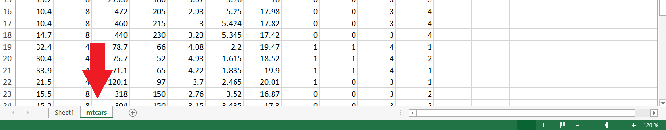 Excel File with 2 Sheets