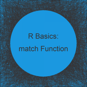 match Function in R (4 Example Codes)
