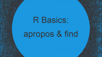 apropos & find Functions in R (2 Examples)
