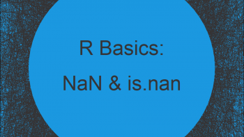 NaN in R Explained (Example Code) | is.nan Function, Count, Replace & Remove