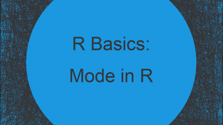Mode in R (4 Programming Examples)