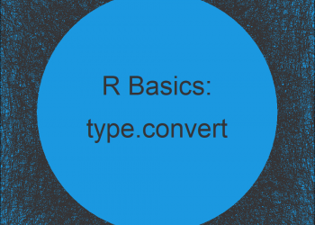 type.convert R Function (Example) | Type Conversion in R Programming