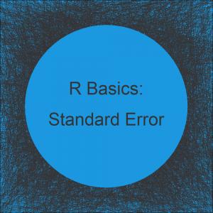 Standard Error in R (2 Examples)