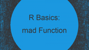 Median Absolute Deviation in R (Example) | mad Function Explained