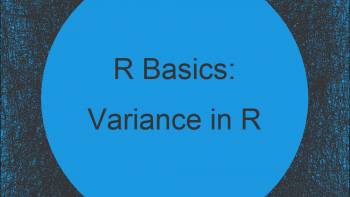 Variance in R (3 Examples) | Apply var Function with R Studio
