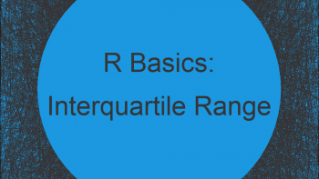 IQR Function in R (2 Examples)   How to Compute the Interquartile Range