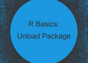 Unload Package without Restarting R (Example)
