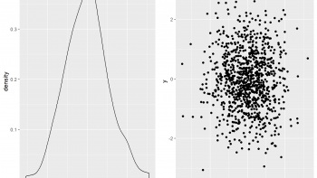 Draw Multiple ggplot2 Plots Side-by-Side (R Programming Example)