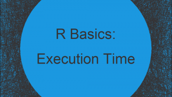 Measuring Execution Time of Function in R (Example Code)