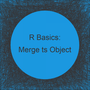 Merge Time Series in R (Example)