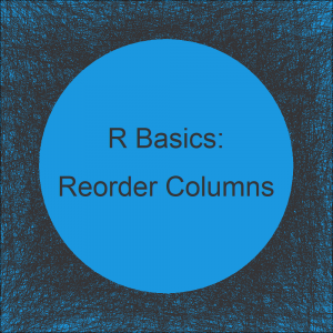 Reorder Columns of Data Frame in R (4 Examples)