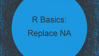 Replace NA with Last Observed Value in R (Example)