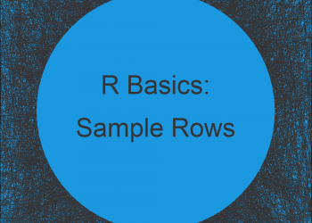 Sample Random Rows of Data Frame in R (2 Examples) | Select with Base R vs. dplyr Package