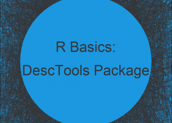 DescTools Package in R | Tutorial & Programming Examples
