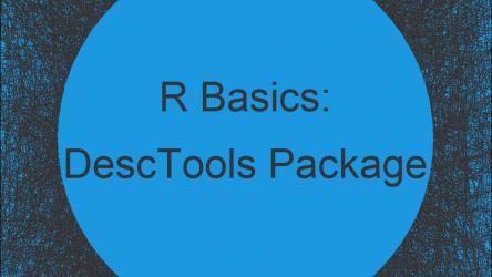 DescTools Package in R | Tutorial & Programming Examples