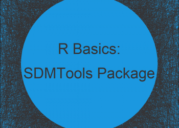 SDMTools Package in R | Tutorial & Programming Examples