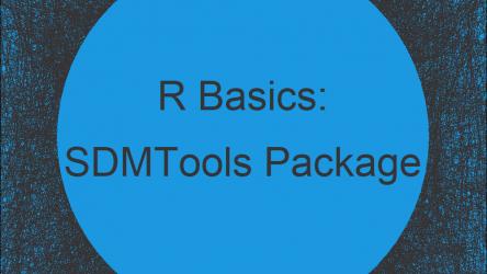 SDMTools Package in R | Tutorial & Programming Examples