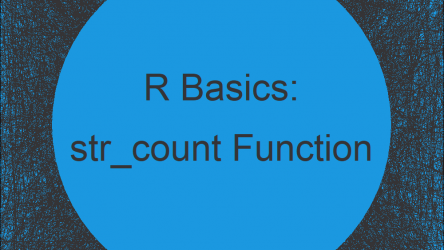 str_count Function in R (stringr Package)
