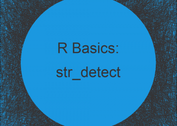 str_detect Function in R (stringr Package)
