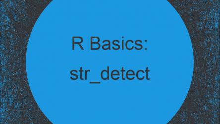 str_detect Function in R (stringr Package)