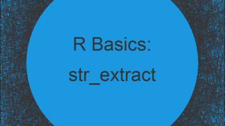 str_extract Function in R (stringr Package)