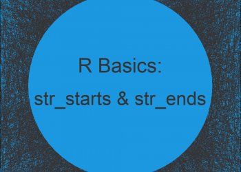 str_starts & str_ends Functions in R (2 Examples)