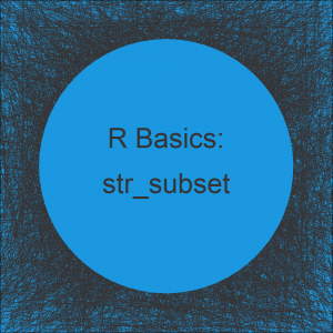 str_subset & str_which Functions in R (2 Examples)