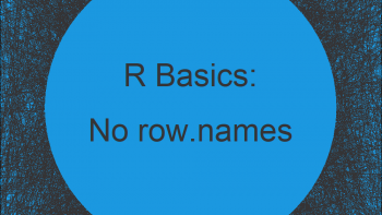 Export CSV File without Row Names in R (Example)