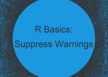 Suppress Warnings Globally in R (Example)