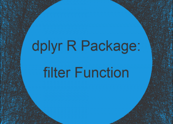 filter R Function of dplyr Package (Example)