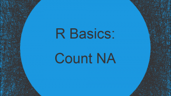 Count NA Values in R (3 Examples)