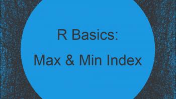 Find Index of Maximum & Minimum Value of Vector & Data Frame Row in R (2 Examples)