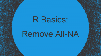 Remove All-NA Columns from Data Frame in R (Example)