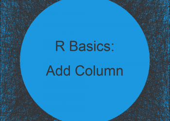 Add New Column to Data Frame in R