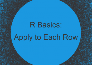 Apply Function to Every Row of Data Frame or Matrix in R (Example)